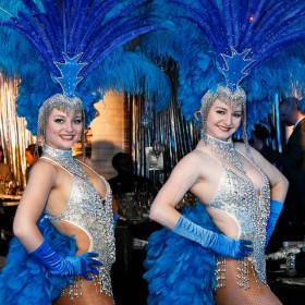 Blue Showgirl (St James)